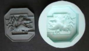 Custom Mold for Soap Bar - USC Theme